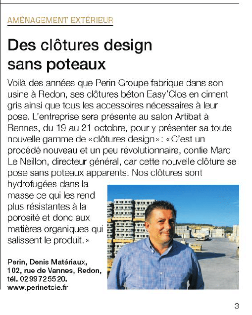 Article ouest france 2016-10-06